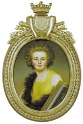 Gustaf Mauritz Armfelt i gul klänning