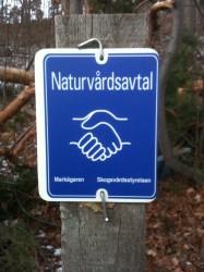 Områdets skyddas av ett 50-årigt avtal