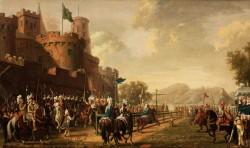 """""""Den förtrollade skogen"""" på Drottningholm 1785 P. Hillestrröm"""