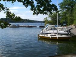 Bild från Kristinebergs båtklubb