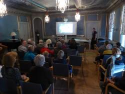Fullsatt när Ann-Marie Björn höll sitt fina föredrag om våra allra minsta vänner
