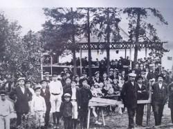 Nya dansbanan från 1913